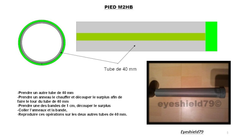 [eyes] Tuto fabriquer pied affût browning.50 M2HB 12,7 mm Diapos41