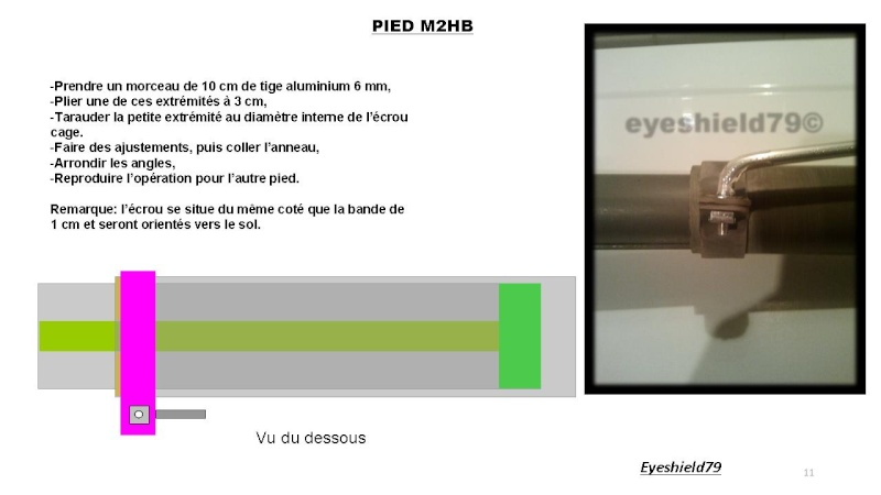 [eyes] Tuto fabriquer pied affût browning.50 M2HB 12,7 mm Diapos47