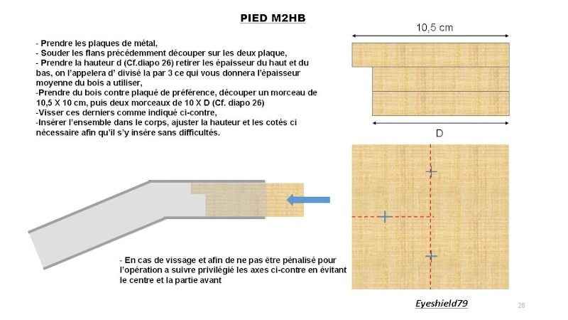 [eyes] Tuto fabriquer pied affût browning.50 M2HB 12,7 mm Diapos64