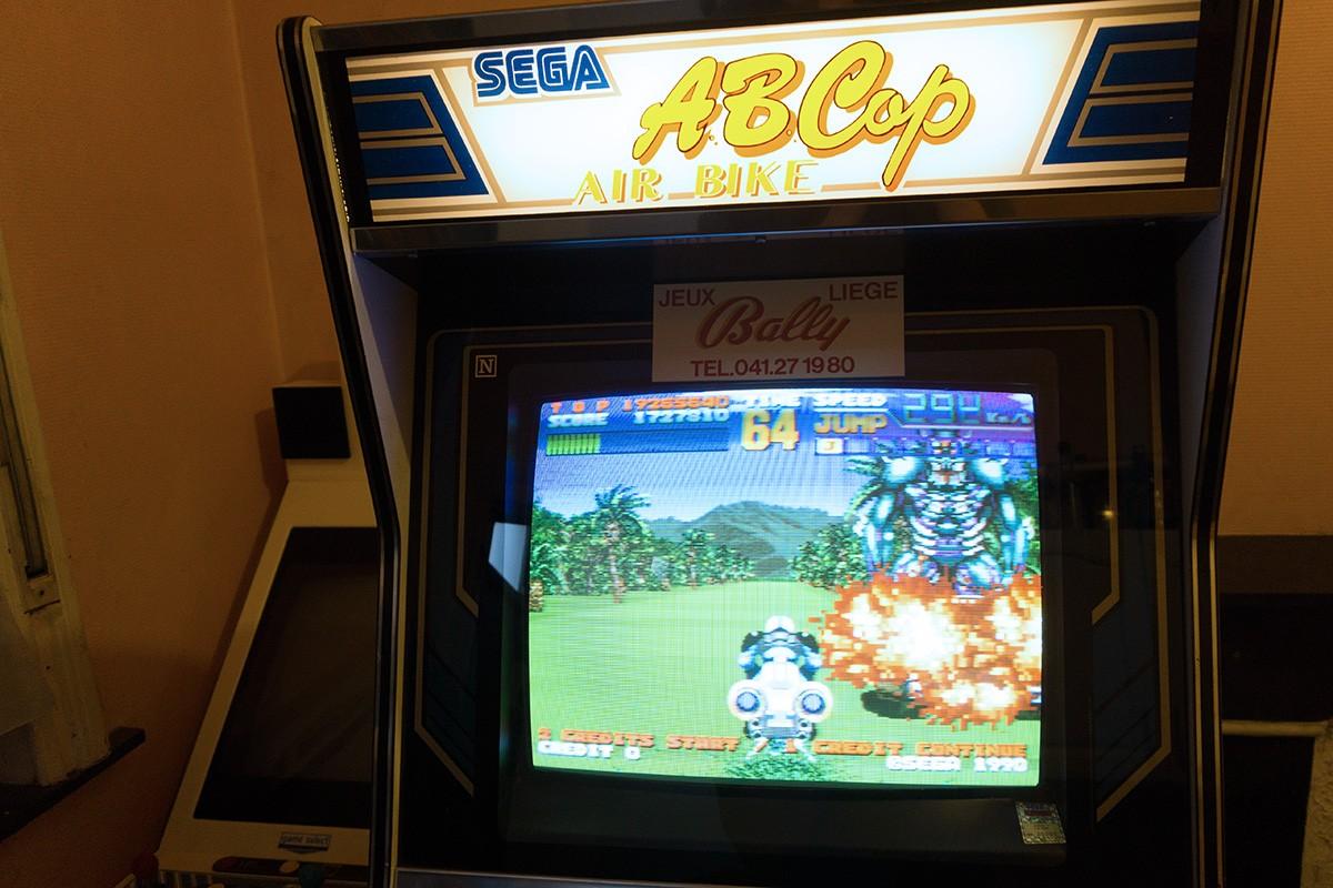 [SOLD] Borne Sega AB Cop / Sega AB Cop cabinet Dsc02811