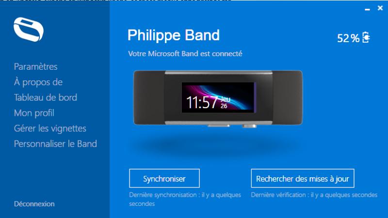 [LOGICIEL] Microsoft Band 2 - Microsoft Band Sync - [gratuit] Captur14