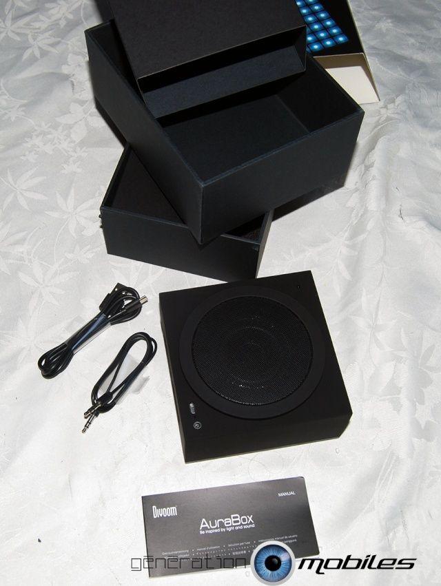 [MOBILEFUN] Test enceinte Bluetooth LED Divoom AuraBox Smart Retro Pixel  Conten11