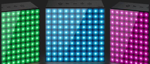 [MOBILEFUN] Test enceinte Bluetooth LED Divoom AuraBox Smart Retro Pixel  Led10