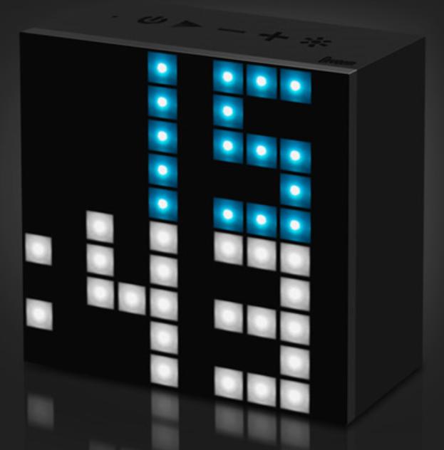 [MOBILEFUN] Test enceinte Bluetooth LED Divoom AuraBox Smart Retro Pixel  Ryveil11