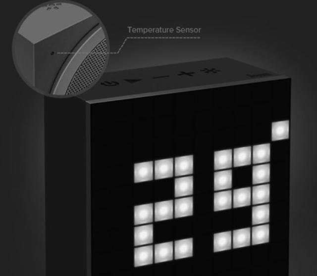 [MOBILEFUN] Test enceinte Bluetooth LED Divoom AuraBox Smart Retro Pixel  Tempyr11
