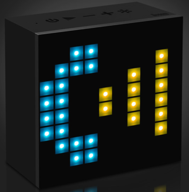 [MOBILEFUN] Test enceinte Bluetooth LED Divoom AuraBox Smart Retro Pixel  Tylyph10