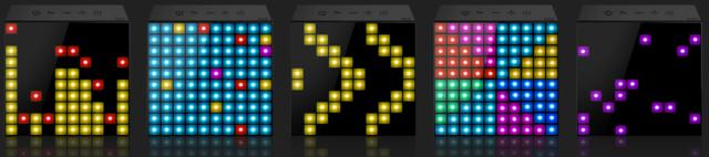 [MOBILEFUN] Test enceinte Bluetooth LED Divoom AuraBox Smart Retro Pixel  Visual10