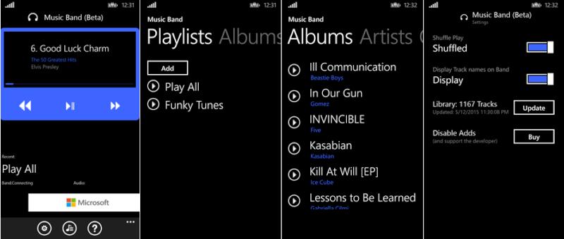 [LOGICIEL] Microsoft Band 2 - Microsoft Band Sync - [gratuit] In-App Visuel11