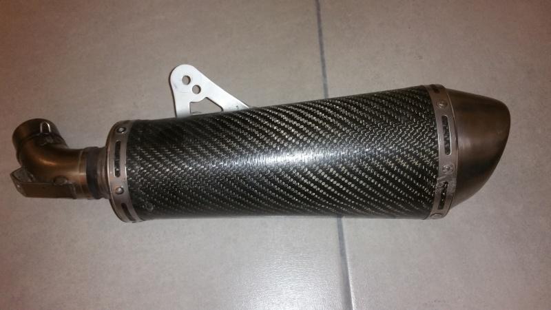 [vends] Pot gauche Termignoni carbone - M796 20160110