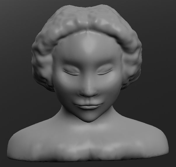 3D sculptris Portra10
