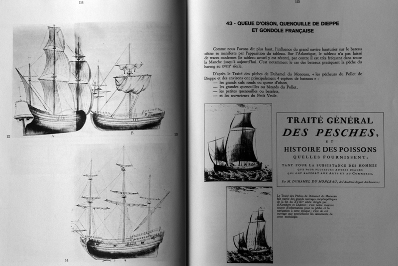 Bateaux des côtes de France - François Beaudouin 20p11410