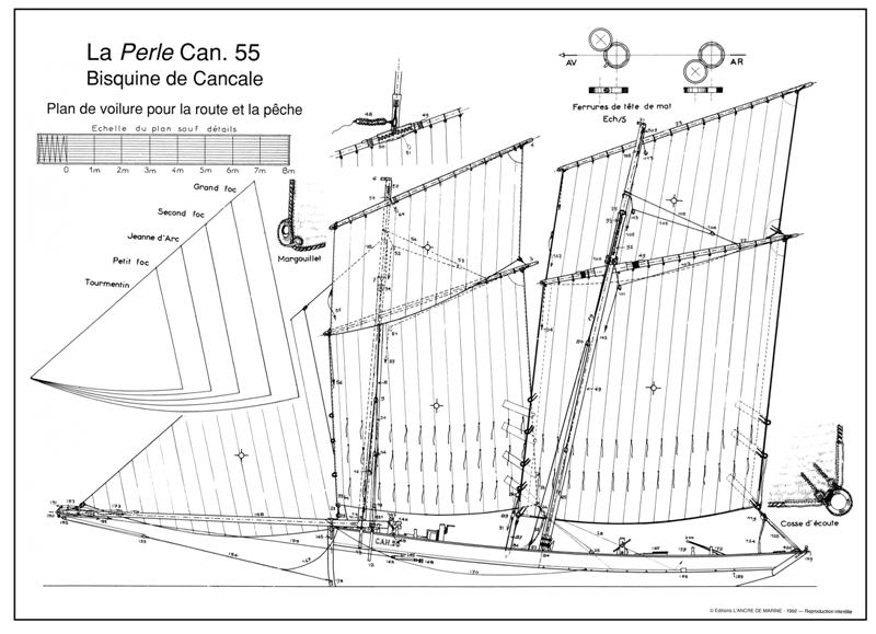 La Bisquine de Granville et de Cancale - Jean Le Bot 3_bisq10