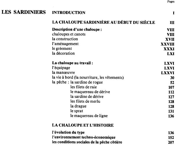 AR VAG - Voiles au travail en Bretagne Atlantique - Tome I - B. Cadoret, D. Duviard, J. Guillet, H. Kérisit 4a_tab11