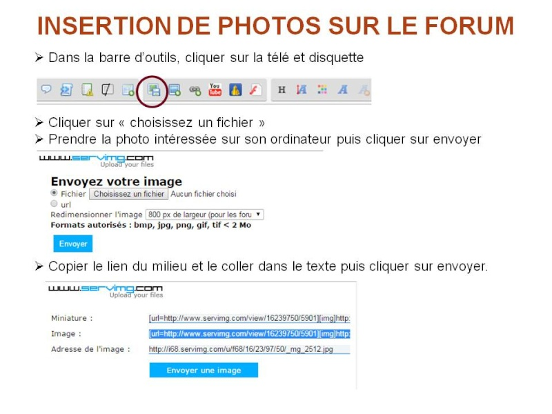 COMMENT INSERER DES PHOTOS SUR LE FORUM Diapos14