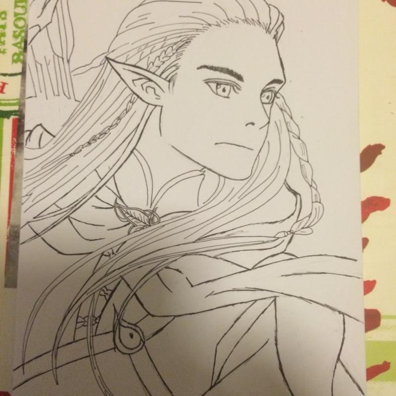 Concours de dessin n°3 : Sda/Hobbit  Image110