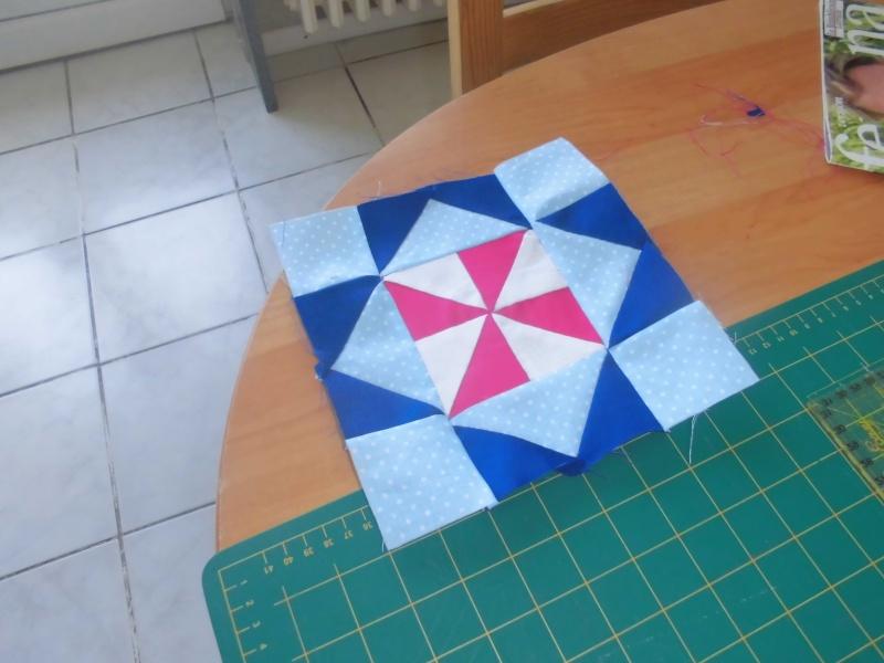 mon plaid de la revue patchwork facile  - Page 5 Bloc_110