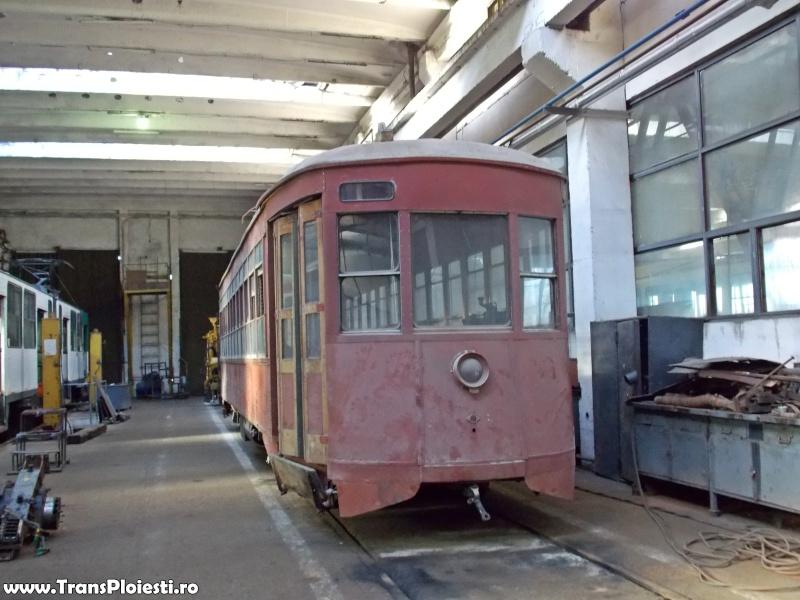 Tramvaie de epocă restaurate la TCE Ploiești Dscn1371
