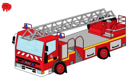 Pixel Art Pompier De Paris Page 2