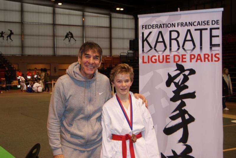 Championnat de Paris Minimes 17 janvier 2016  Valentin Dsc00215