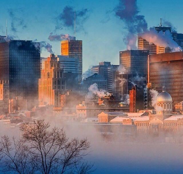 Montréal, matin glacial... Froid11