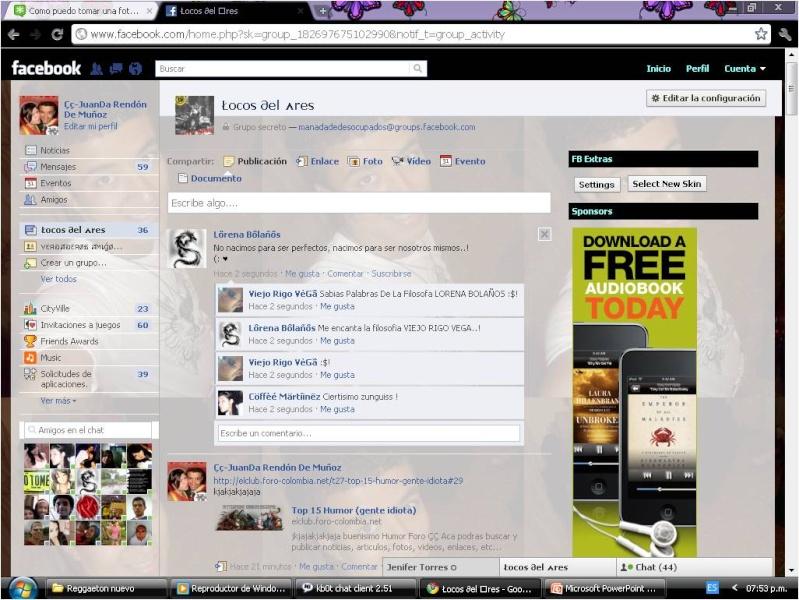 Cambiar skin de facebook sin virus ni publicidad Pictur10