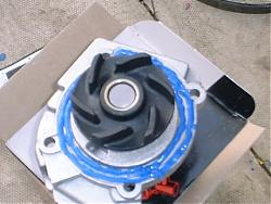 Cinquecento Sporting Water Pump Replacement 00610