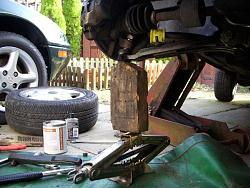 Remove / refit front suspension arms Arm1110