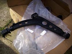 Remove / refit front suspension arms Arm410