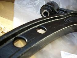 Remove / refit front suspension arms Arm510