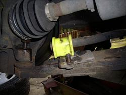 Remove / refit front suspension arms Arm811