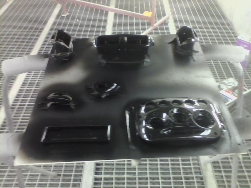 Colour coding interior trim. P1503113