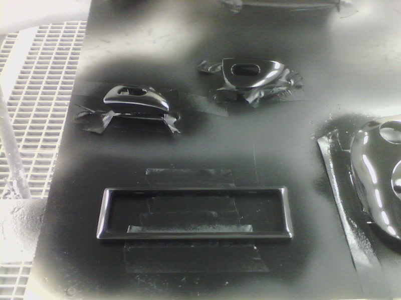 Colour coding interior trim. P1503115