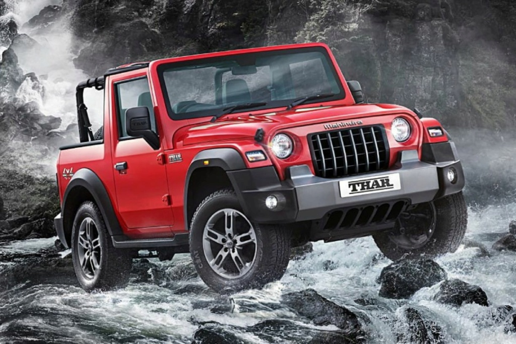 Mahindra Thar : la copie indienne de la Jeep Wrangler ? 2021-m10