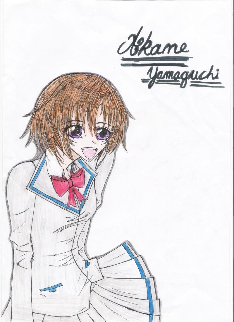 Dessin de vampire knight et autre Akane_10