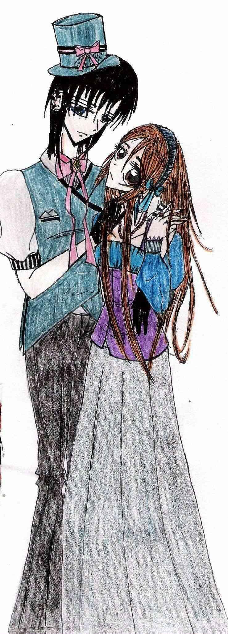 Dessin de vampire knight et autre Tsuki_10