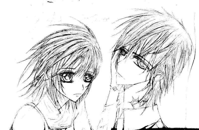 Dessin de vampire knight et autre Yuki_e14