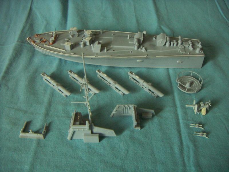 Vedette lance-torpilles anglaise Vosper au 1/72 airfix 01_08_10