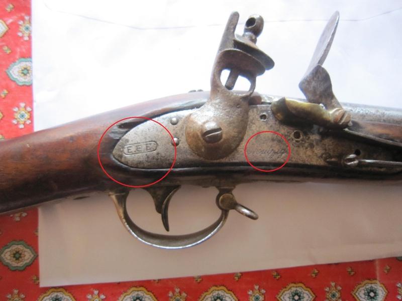 fusil d'infanterie à silex 12412