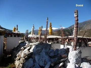 La Chine sac au dos (34) Aux confins du Tibet (西藏): 2e épisode: Sichuan (四川): de Benzilan (奔子栏)  à Derong (得荣) et Ciwu (茨巫)  Derong19