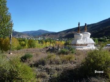 La Chine sac au dos (34) Aux confins du Tibet (西藏): 2e épisode: Sichuan (四川): de Benzilan (奔子栏)  à Derong (得荣) et Ciwu (茨巫)  Derong21