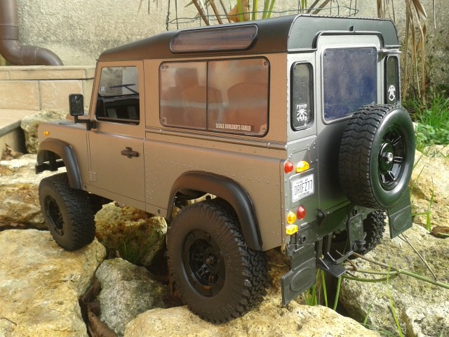 [Gmade komodo] puis modification en defender 90 20151112