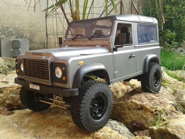 [Gmade komodo] puis modification en defender 90 20151113