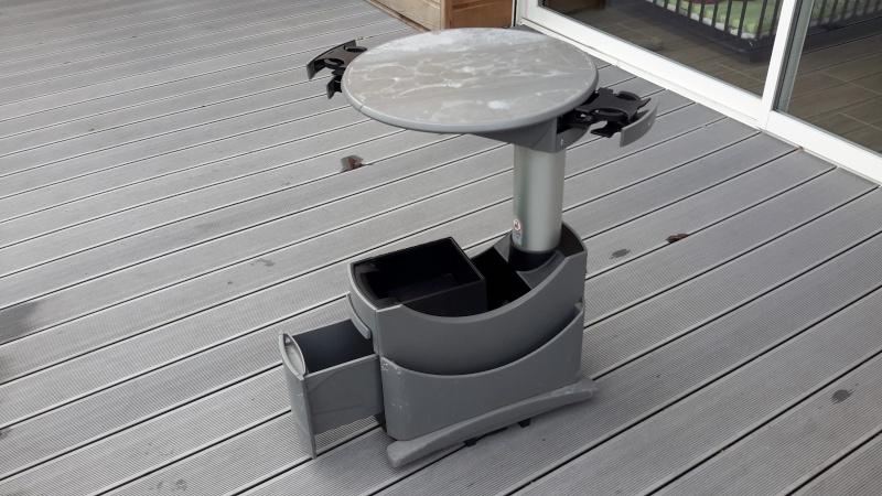 VENDU : table multivan et siège arrière  20160122