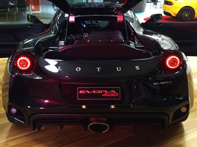 Nuovo Lotus dealer + presentazione Evora 400 Poster10