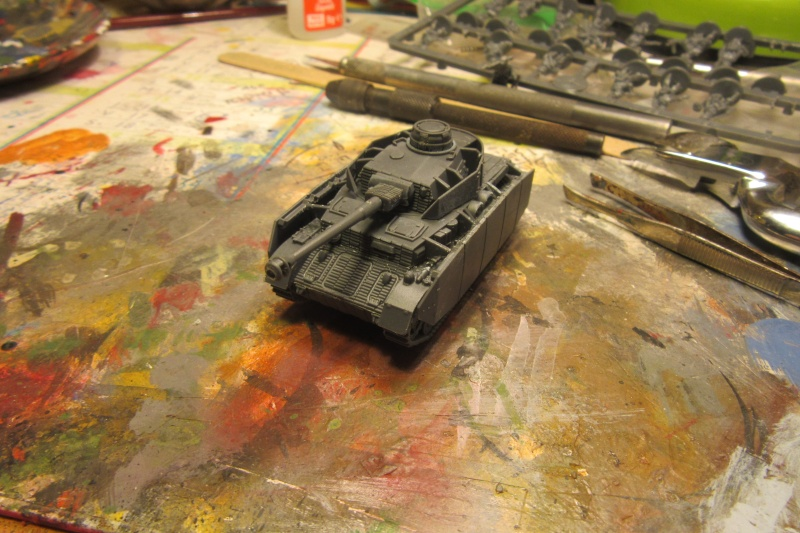 Panzer IV ausf H - Battlefront - 1/144eme Flames16