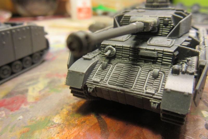 Panzer IV ausf H - Battlefront - 1/144eme Flames17