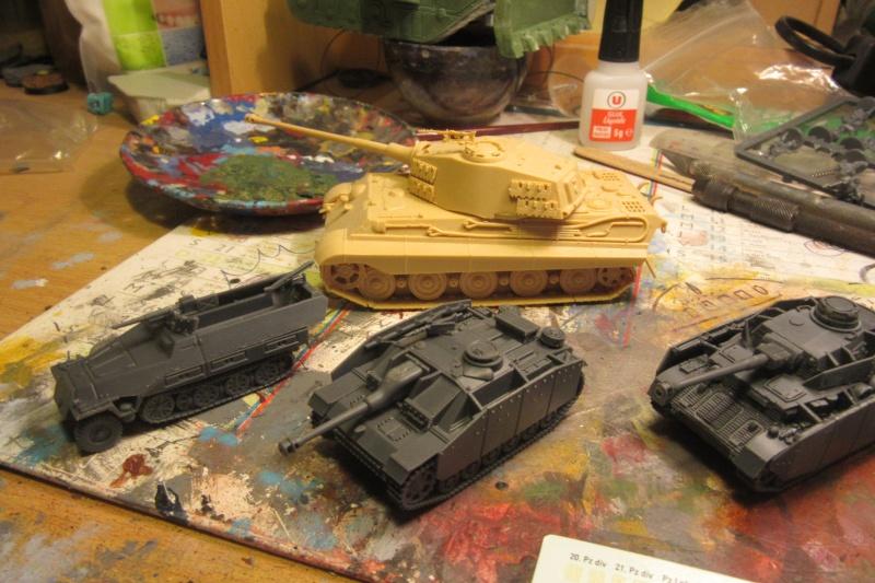 Panzer IV ausf H - Battlefront - 1/144eme Flames18