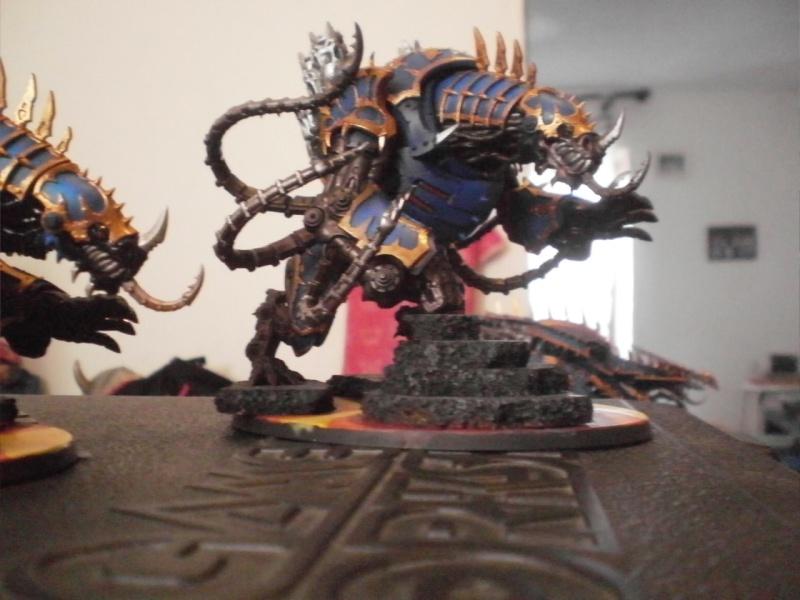 Warhammer 40K, mes réalisations Thousa11