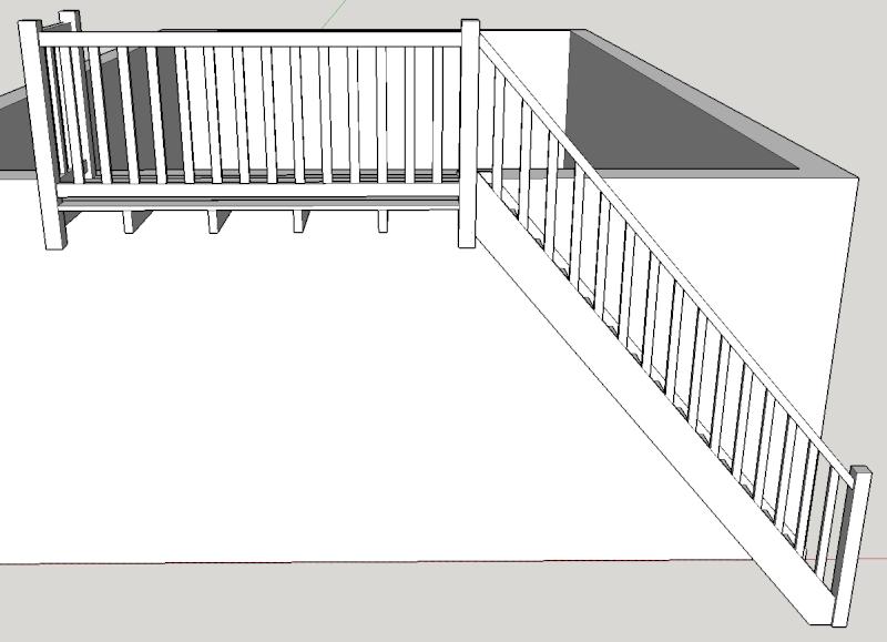 Balcon avec escalier de meunier Balcon10