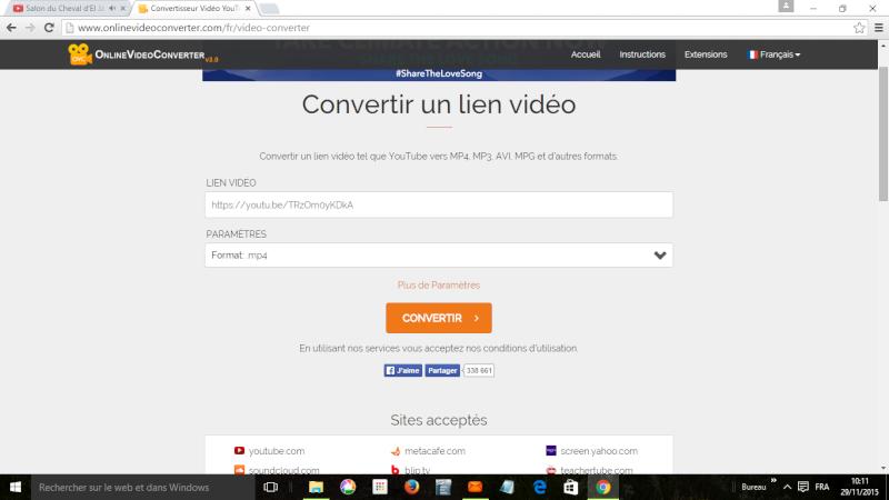 Capture de film et vidéo sur Youtube, Vimeo ou Dailymotion Image_12